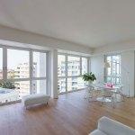 Interior of NOBILE Floor Plan - Residenze Calo Erba in Milan / Eisenman Architects + Degli Esposti Architetti + AZstudio