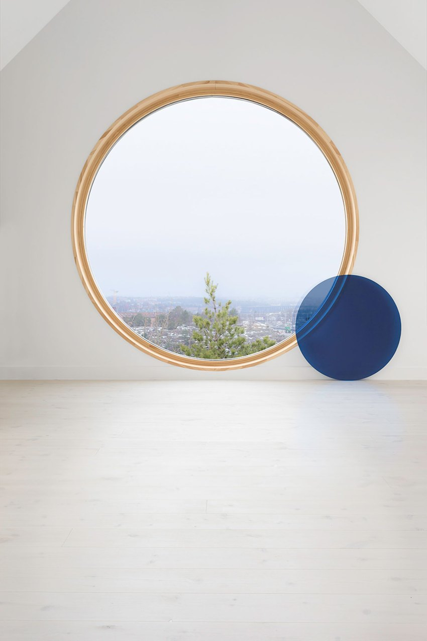 Round Window - Brf Ferdinand Dwellings in Aspudden / Scott Rasmusson Källander