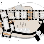 Floor Plan - Helfštýn Castle Palace Reconstruction / Atelier-r