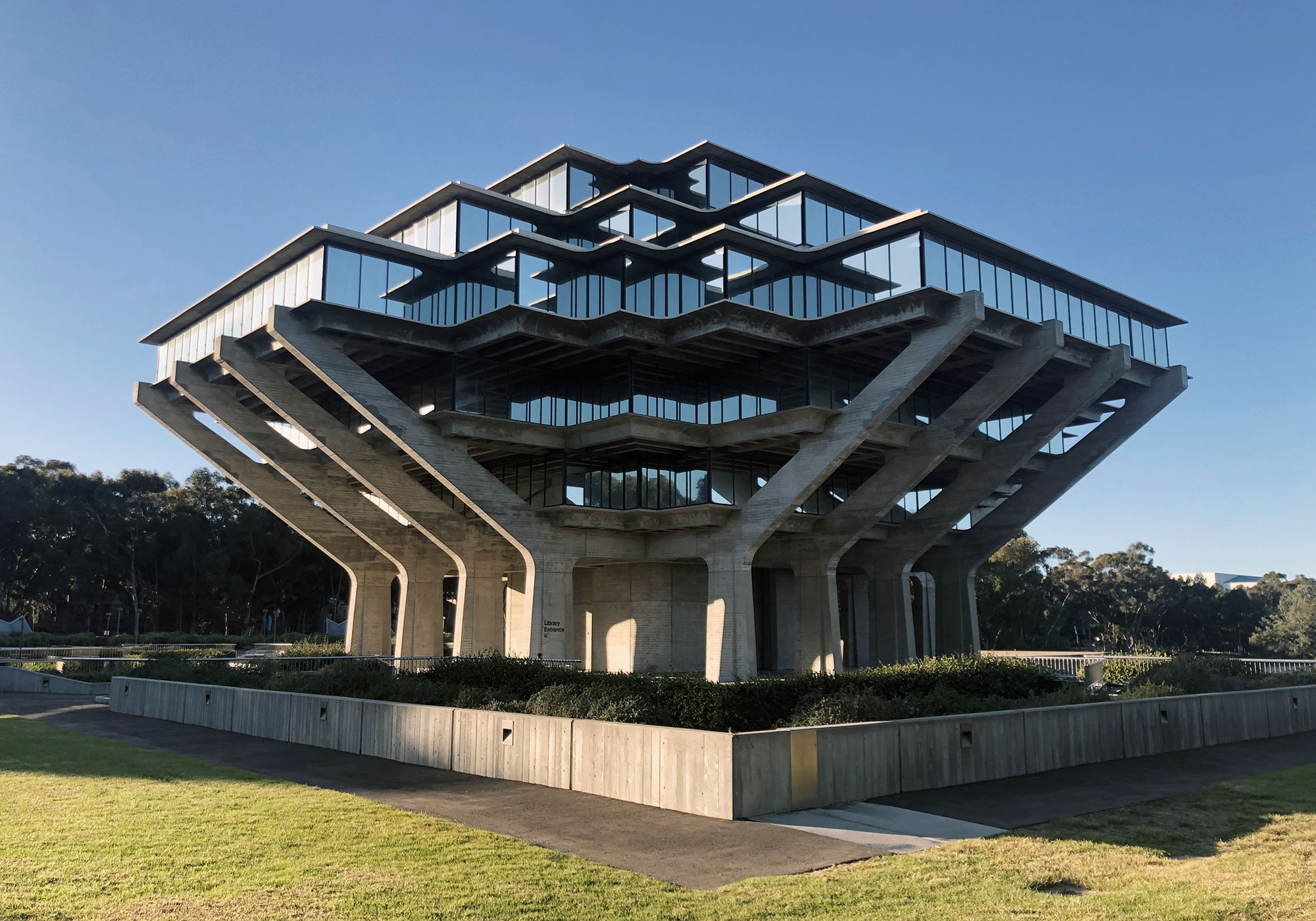 The Geisel Library by William Pereira & Associates in San Diego
