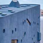 Exterior Facade and Roof Blue whale - Pinghe Bibliotheater in Shangai / OPEN Architecture