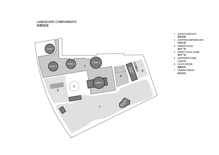 Floor Plan - Tank Shanghai / OPEN Architecture