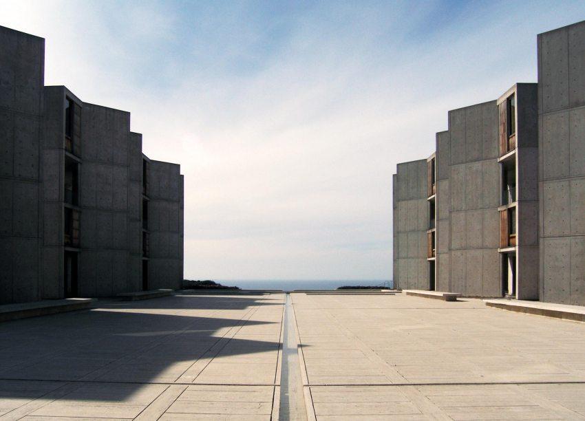 Plaza - Salk Institute for Biological Studies / Louis Kahn