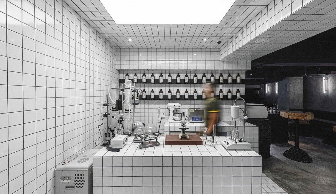 Lab - PENICILLIN Bar In Hong Kong / COLLECTIVE