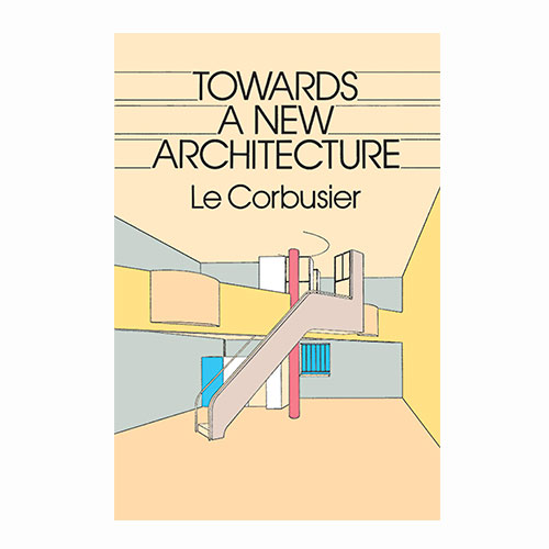 Towards a new architecture Le Corbusier - Book present for architects