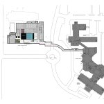 Site Plan - OMA's Pierre Lassonde Pavilion at MNBAQ