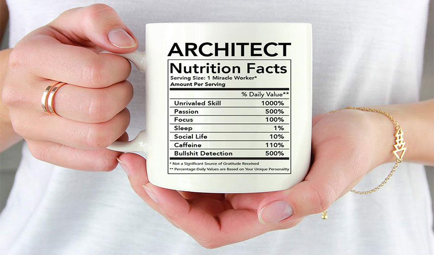 coffee mug architect