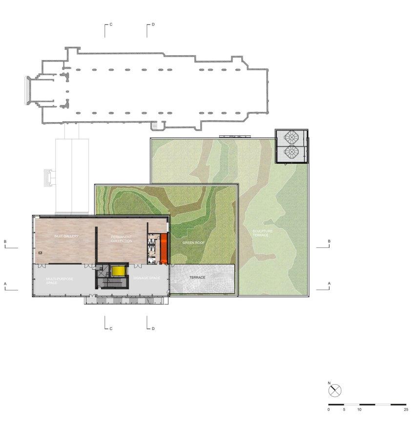 Floor Plan - OMA's Pierre Lassonde Pavilion at MNBAQ