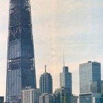 Construction Photograph - John Hancock Center at 875 North Michigan Avenue / Skidmore, Owings, and Merrill