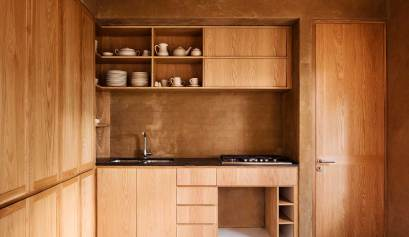 entre pinos house taller hector barroso ArchEyes interior kitchen