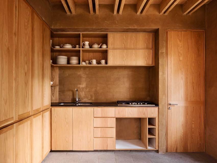 Kitchen Modern Appliances - Wood Kitchen