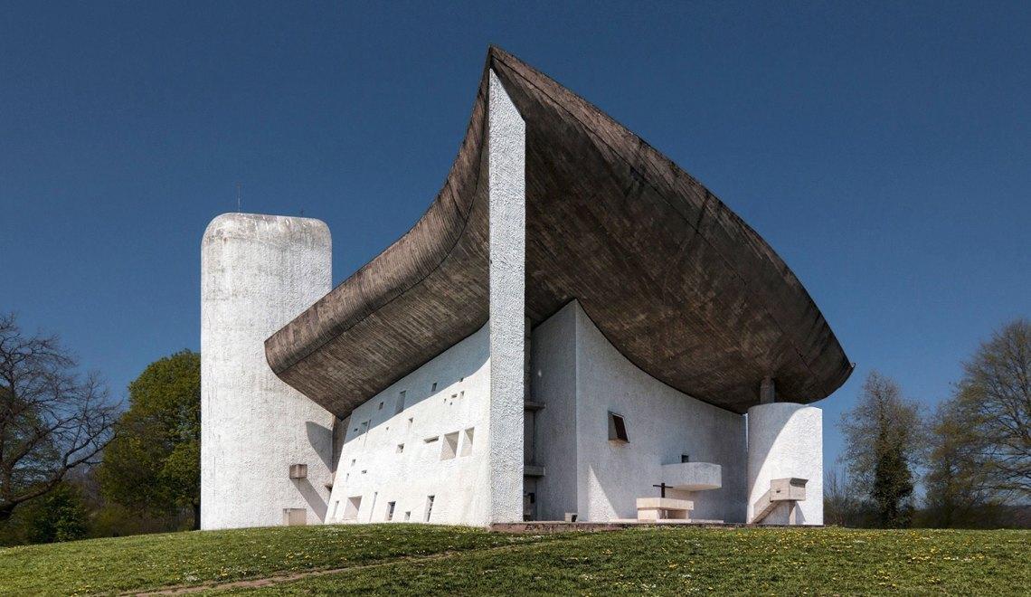 Le Corbusier Ronchamp Chapel chapelle notre dame du haut ArchEyes Wojtek Gurak