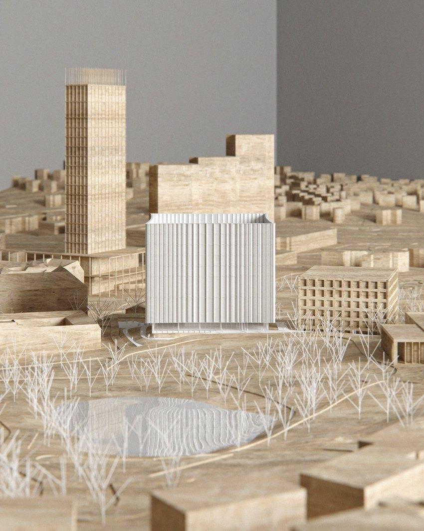 Gothenburg University Library by Cobe Model