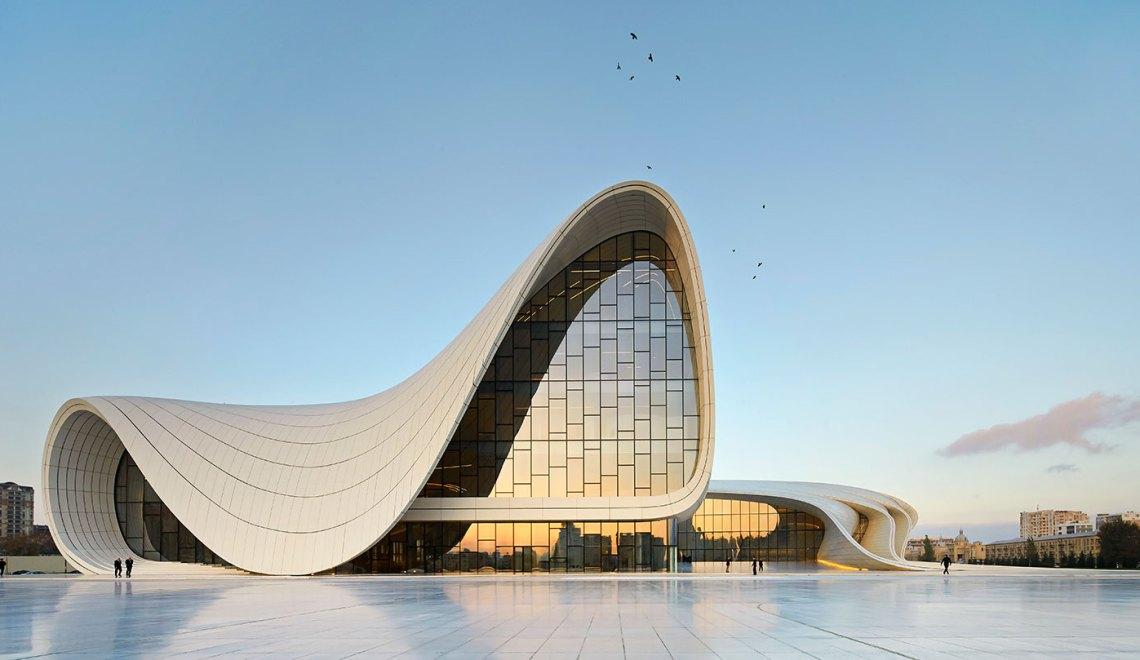 Zaha Hadid Heydar Aliyev Centre Baku ©Hufton Crow