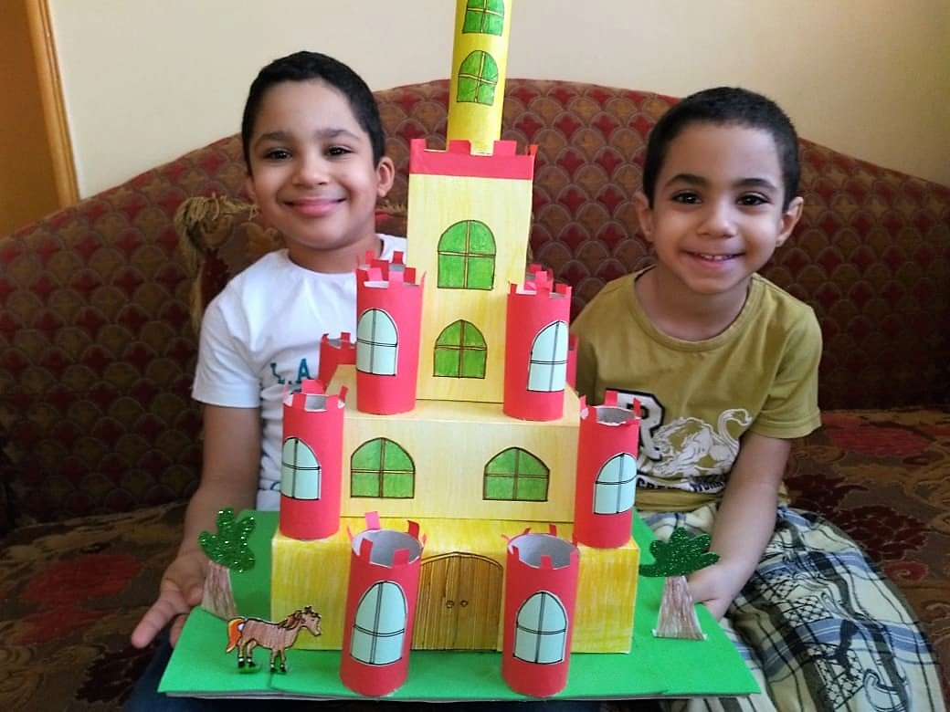 at home castle creation