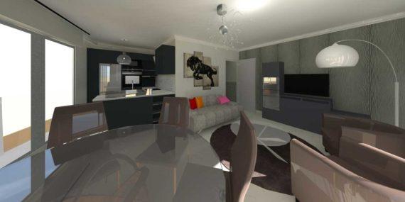 Rénovation d'un appartement à Pornichet
