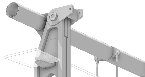 Curtain Wall Connection - Revit Model Detail