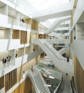 Schmidt_Hammer_Lassen_Architects_Utrecht_University_College_3rd_floor_view
