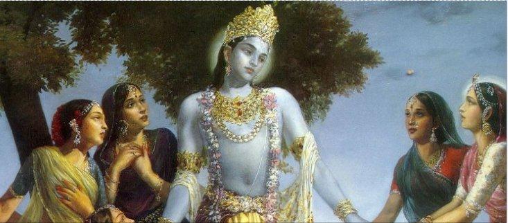 Krishna i gopi