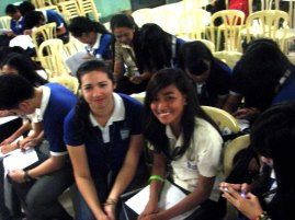 Participants - LCC Bacolod Students, Philippines