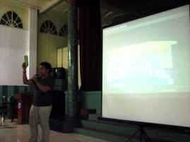 LCC Bacolod Students explain the Design - Global Green Filipino Architecture (1)