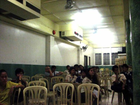 LCC Bacolod Students explain the Design - Global Green Filipino Architecture (4)