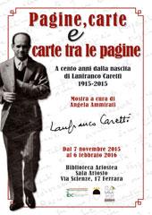 Mostra su Lanfranco Caretti