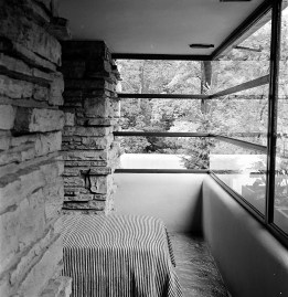 Fallingwater. Ruth and Rick Meghiddo, 1971. All Rights Reserved.