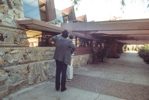 Taliesin West. Ruth and Rick Meghiddo, 1971. All Rights Reserved.