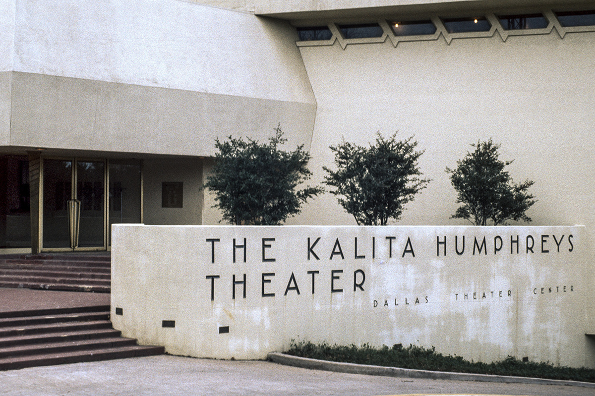 Dallas Theater Center. Ruth and Rick Meghiddo, 1971. All Rights Reserved.