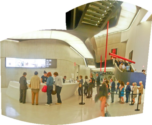 MAXXI Museum. Copyright Ruth and Rick Meghiddo, 2010. All Rights Reserved.