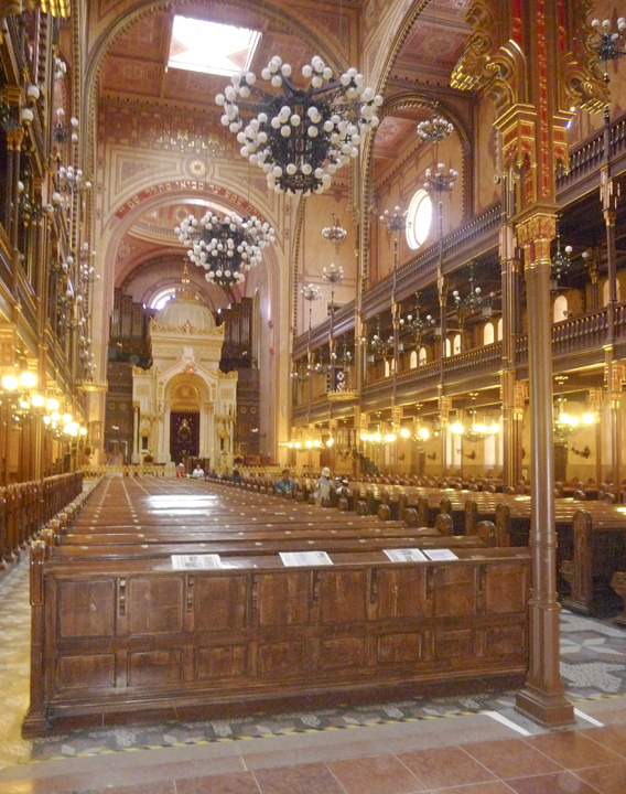 Dohány Street Synagogue. Copyright Ruth and Rick Meghiddo, 2010. All Rights Reserved.