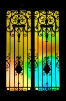 Entrance gate. Copyright Ruth and Rick Meghiddo, 2010. All Rights Reserved.