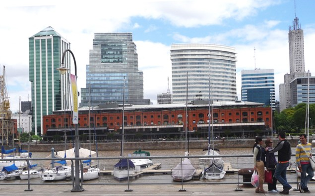 Puerto Madero.Copyright Ruth and Rick Meghiddo, 2008. All Rights Reserved.