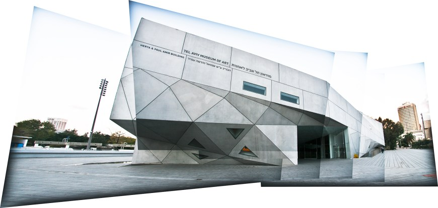 Tel Aviv Museum of Art Amir Building. Ruth and Rick Meghiddo, 2012. All Rights Reserved.