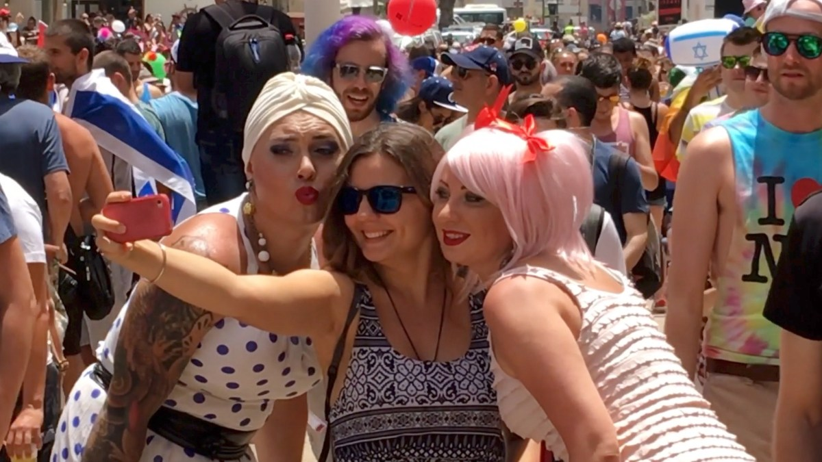 Gay Parade 2016 in Tel Aviv. Copyright Ruth and Rick Meghiddo 2016 - All rights reserved.
