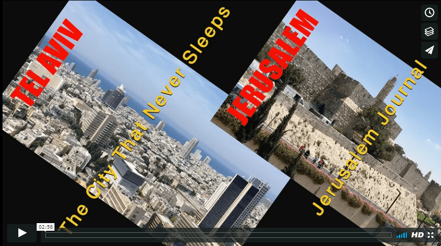 Two Cities: Tel Aviv and Jerusalem