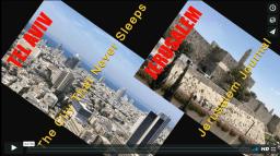 Two Cities: Tel Aviv and Jerusalem