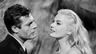 """Marcello Mastroianni and Anita Ekberg, """"La Dolce Vita"""" (1960)"""