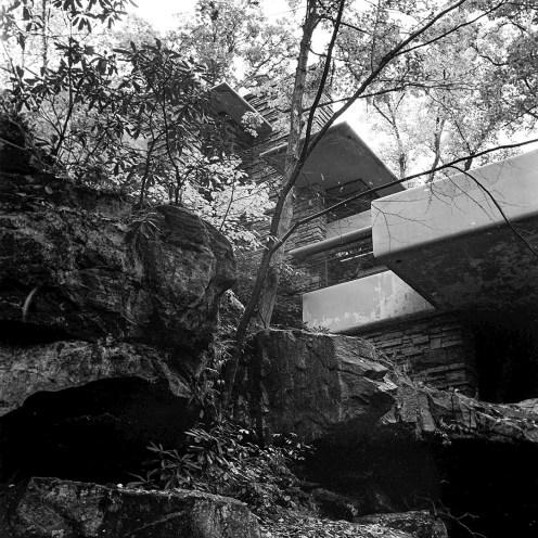 "Kaufmann Residence, ""Fallingwater,"" Bear Run, PA, 1939. R&R Meghiddo, 1971, All Rights Reserved."