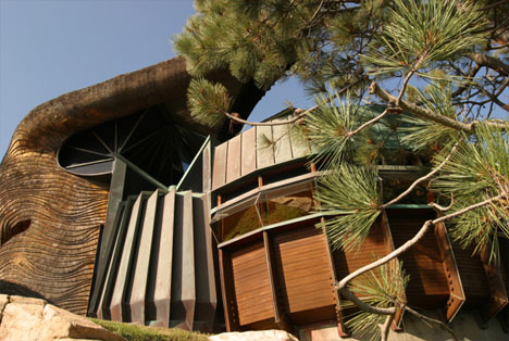 Robert Harvey Oshatz's Elk Rock Residence, Oswago, OR, 1959.