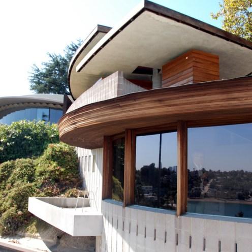 John Lautner's Silvertop, Los Angeles, CA, 1956-1976.