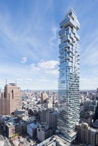56 Leonard St, New York, NY. Architect:Herzog & de Meuron. Photo: Iwan Baan.