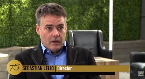 Director Sebastian Lelio