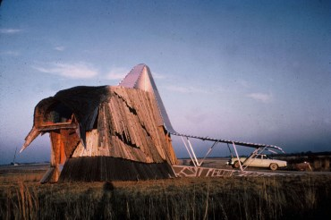 Herb Green, Prairie Chicken House, Oklahoma, 1961