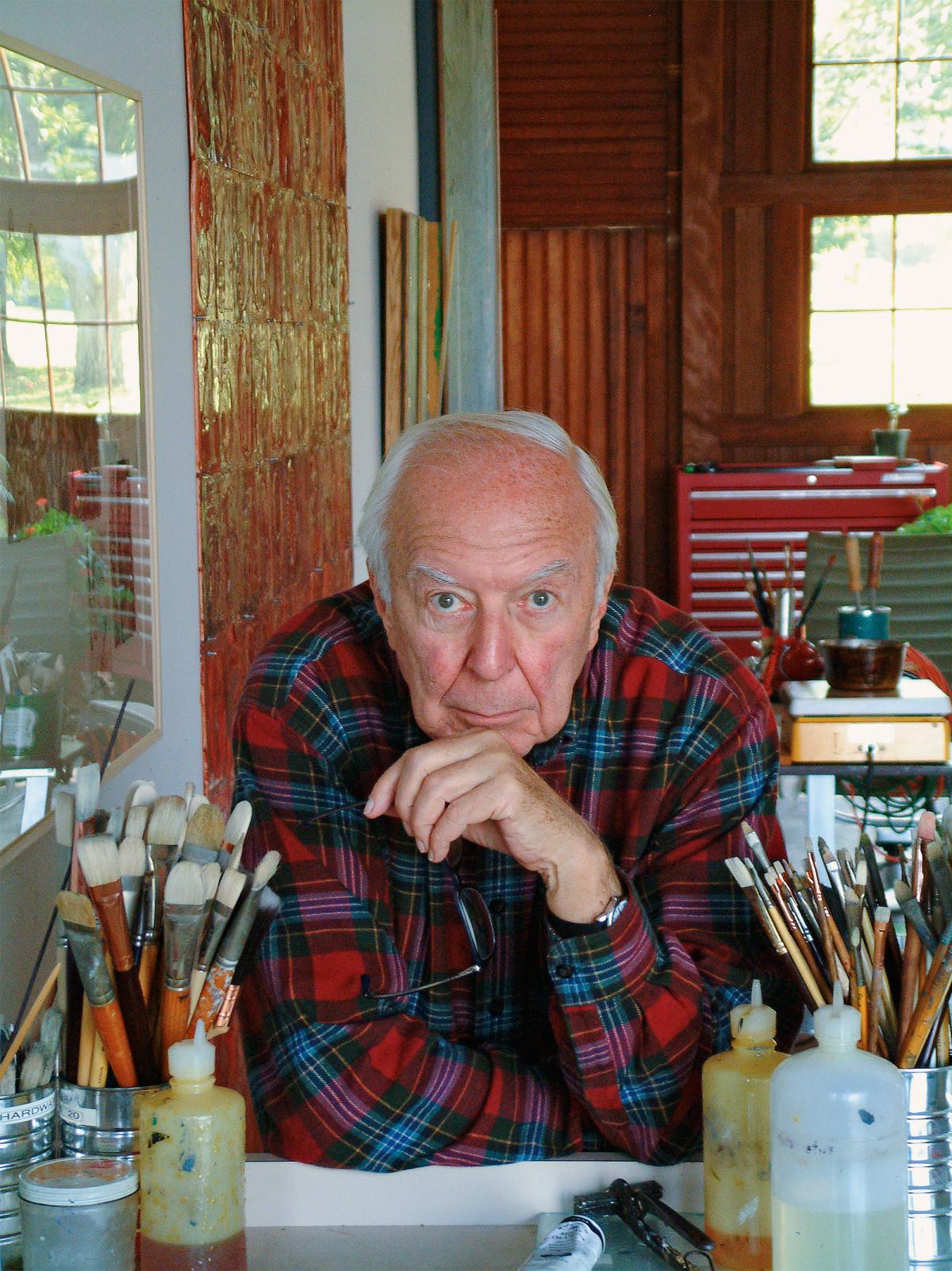Jasper John - Photo: John Lund