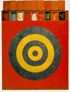 Target with Plastic Casts, 1955