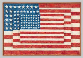 Jasper Johns - Flags, 1958