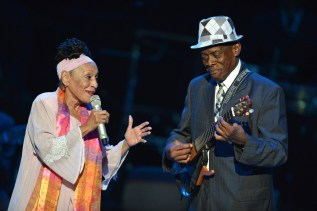 Omara Portuondo and Gilberto Oviedo of BVSC, in Rome, 2012. Photo: Maria Laura Antonelli.