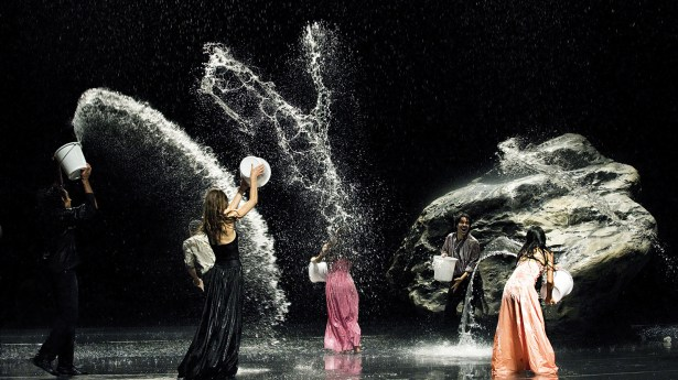 "Pina Bausch's dancing company in the ""Pina"" film."